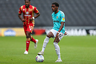 Forest Green Rovers Reece Brown(10) on the ball during the EFL Sky Bet League 2 match between Milton Keynes Dons and Forest Green Rovers at stadium:mk, Milton Keynes, England on 15 September 2018.