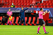 Julen Lopetegui, head coach of Sevilla during the UEFA Champions League, Group Stage, Group E football match between Sevilla FC and Stade Rennais on October 28, 2020 at Ramon Sanchez-Pizjuan stadium in Sevilla, Spain - Photo Joaquin Corchero / Spain ProSportsImages / DPPI / ProSportsImages / DPPI