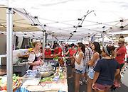 Australians celebrate Australia Day at The Rocks, Sydney, Australia..26th Jan 2013.Aussie food markets on Australia Day