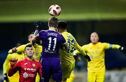 Luka Zahovic of NK Maribor vs Gregor Sikosek of NK Domzale during football match between NK Domzale and NK Maribior in 18th Round of Prva liga Telekom Slovenije 2018/19, on November 11, 2018 in Sportni Park, Domzale, Slovenia. Photo by Vid Ponikvar / Sportida