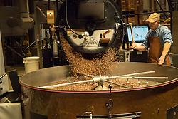 United States, Washington, Seattle. Starbucks Roastery on Capitol Hill.