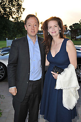 GEORDIE & KATHRYN GREIG at the opening party of the London Syon Park - A Waldorf Astoria Hotel, Syon Park, Middlesex on 19th May 2011.