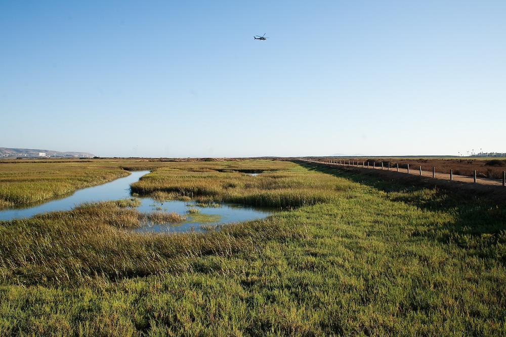 The Tijuana River National Estuarine Research Reserve is located near Imperial Beach, CA.
