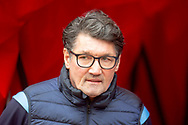 Luton Town interim manager, Mick Harford before the EFL Sky Bet League 1 match between Sunderland AFC and Luton Town at the Stadium Of Light, Sunderland, England on 12 January 2019.