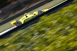 April 20, 2018 - Birmingham, Alabama, United States of America - April 20, 2018 - Birmingham, Alabama, USA: SIMON PAGENAUD (22) of France takes to the track to practice for the Honda Grand Prix of Alabama at Barber Motorsports Park in Birmingham, Alabama. (Credit Image: © Justin R. Noe Asp Inc/ASP via ZUMA Wire)