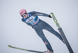 31.12.2018, Olympiaschanze, Garmisch Partenkirchen, GER, FIS Weltcup Skisprung, Vierschanzentournee, Garmisch Partenkirchen, Qualifikation, im Bild Karl Geiger (GER) // Karl Geiger of Germany during the qualifying for the Four Hills Tournament of FIS Ski Jumping World Cup at the Olympiaschanze in Garmisch Partenkirchen, Germany on 2018/12/31. EXPA Pictures © 2018, PhotoCredit: EXPA/ Stefanie Oberhauser