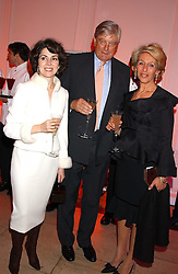 ARCHIE & SHARON STIRLING and the DUCHESS OF MARLBOROUGH at a 'A Night in Cartier Paradise' to celebrate a new collection of jewellery by Cartier, held at The orangery, Kensington Palace, London W8 on 25th October 2005.<br /><br />NON EXCLUSIVE - WORLD RIGHTS