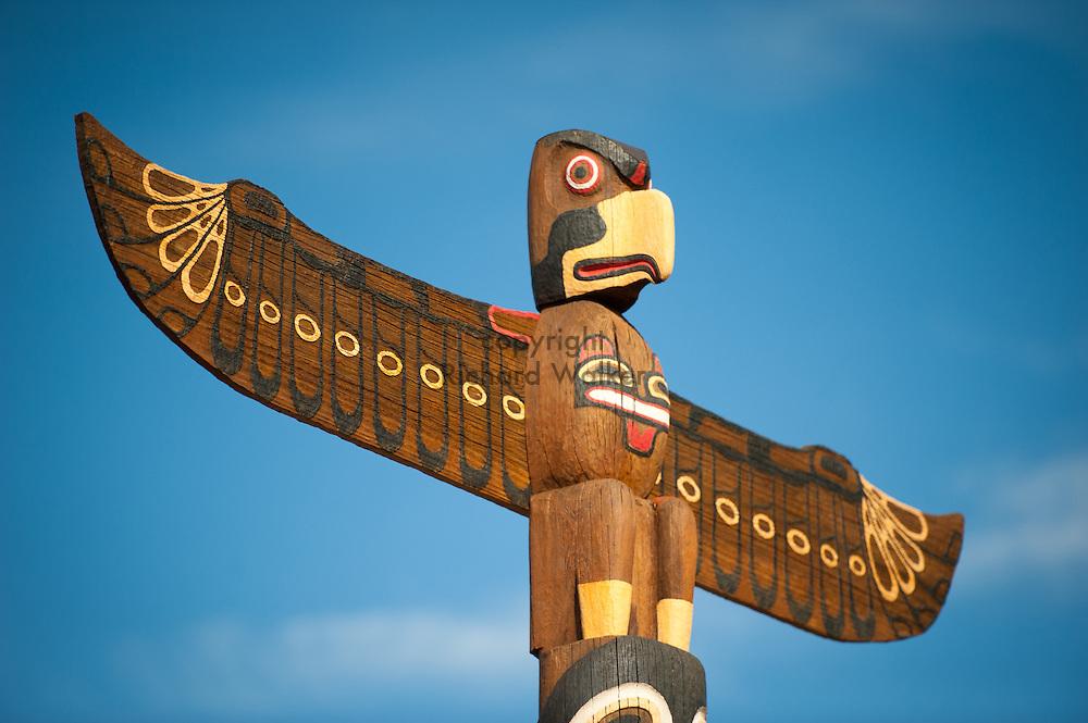 2012 August 27 - Totem pole, West Seattle, WA. By Richard Walker