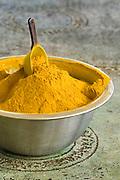 Turmeric (Curcuma longa) powder