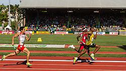 mens 4x400 relay, Allen, Jamaica, Morgan, USA