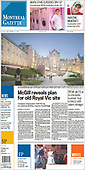 September 03, 2021 - CANADA: Front-page: Today's Newspapers In Canada