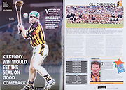 All Ireland Senior Hurling Championship Final,.03.09.2006, 09.03.2006, 3rd September 2006,.Senior Kilkenny 1-16, Cork 1-13,.Minor Tipperary 2-18, Galway 2-7.3092006AISHCF,.Kilkenny, back row, Willie O'Dwyer, Brian Hogan, Stephen Maher, Peter Cleere, Seaghan O'Neill, Noel Hickey, James Ryall, Henry Shefflin, Derek Lyng, Michael Rice, Martin Comerford, PJ Delane, Donnacha Cody, Sean Cummins,  Richie Mullally, Richard O'NEill, Austin Murphy, Front row, Richie Power, John Dalton, Michael Fennelly, John Tennyson, Eddie Brennan, Eoin Larkin, James McGarry, JJ Delaney, Aidan Fogarty, James Cha Fitzpatrick, Tommy Walsh, Michael Kavanagh, Eoin Reid, Eoin McCormack, PJ Ryan,