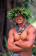 Polynesian Man, Hawaii<br />