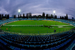 Stadium at practice of Slovenian National football team a day before FIFA World Cup Qualifications match between Slovakia and Slovenia, on October 09, 2009, in Tehelne Pole Stadium, Bratislava, Slovakia.  (Photo by Vid Ponikvar / Sportida)