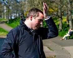 Scottish Conservative leader on the campaign trail, Edinburgh, 5 April 2021