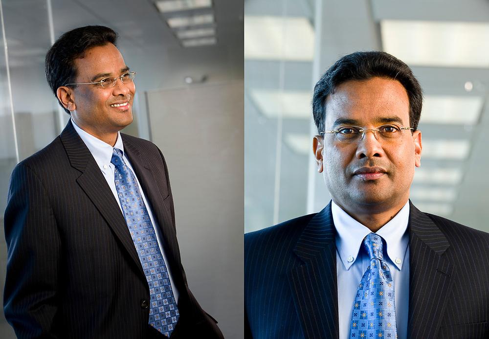 Executive portrait of Ravi Ika for Ika Systems