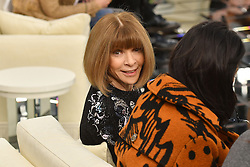 Anna Wintour the Chanel Haute Couture Spring Summer 2017 shows as part of Paris Fashion Week on January 24, 2017 in Paris, France. Photo by Laurent Zabulon/ABACAPRESS.COM