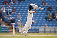 Yorkshire Batsman Joe Root plays the ball off his toes  during the Specsavers County Champ Div 1 match between Yorkshire County Cricket Club and Surrey County Cricket Club at Headingley Stadium, Headingley, United Kingdom on 10 May 2016. Photo by Simon Davies.