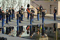 4/16/2021- Washington D.C.-- First Colors Ceremony, National World War 1 Memorial. Photo by David Trozzo- For Licenced Use Only.
