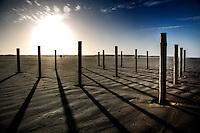 SCHIERMONNIKOOG - strand noordzee Schiermonnikoog. COPYRIGHT KOEN SUYK