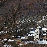 Village in Leon province mountains