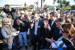 Governador do Estado, José Ivo Sartori durante visita a 38ª Expointer, que ocorrerá entre 29 de agosto e 06 de setembro de 2015 no Parque de Exposições Assis Brasil, em Esteio. FOTO: Pedro Tesch/ Agência Preview