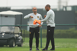 September 5, 2018 - Tubize, BELGIUM - Belgium's head coach Roberto Martinez and Belgium's assistant coach Thierry Henry pictured during a training session of Belgian national soccer team the Red Devils in Tubize, Wednesday 05 September 2018. The team is preparing for a friendly match against Scotland on 07 September and the UEFA Nations League match against Iceland on 11 September. BELGA PHOTO BRUNO FAHY (Credit Image: © Bruno Fahy/Belga via ZUMA Press)