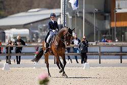 De Jong Jette, BEL, Indini<br /> CDI3* Opglabbeek<br /> © Hippo Foto - Sharon Vandeput<br /> 23/04/21