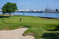 BRIELLE -  hole 6. Kleiburg , golfbaan.  COPYRIGHT KOEN SUYK