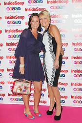 © Licensed to London News Pictures. 21/10/2013, UK. Louisa Bradshaw-White; Linda Henry, Inside Soap Awards, Ministry Of Sound, London UK, 21 October 2013. Photo credit : Richard Goldschmidt/Piqtured/LNP