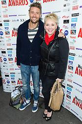 © Licensed to London News Pictures. 06/12/2013, UK. Ben Freeman and Cheryl Baker, launch party, Cafe De Paris, London UK, 06 December 2013,. Photo credit : Raimondas Kazenas/Piqtured/LNP