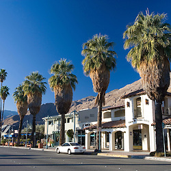 North Palm Canyon Drive in Palm Springs, California.
