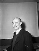 1953 - Peadar O'Connor of Radio Eireann