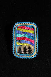 Adaka Cultural Festival 2016, Whitehorse, Yukon, Canada, Yukon First Nation Culture and Tourism Association, Kwanlin Dun Cultural Centre, Florence Moses, quill, beadwork, jewellery