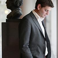 Nederland, Amsterdam , 10 oktober 2011..Jan Paternotte raadlid van D66 in amsterdam..D66 in Amsterdam begint aan zijn vierde partijleider in twee jaar. Fractievoorzitter Gerolf Bouwmeester maakt na anderhalf jaar alweer plaats voor raadslid Jan Paternotte..Foto:Jean-Pierre Jans