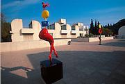 SPAIN, BARCELONA, MUSEUM Montjuic Park; Fundacio Juan Miro