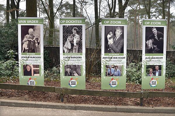 Nederland, Arnhem, 9-4-2013Details over dierentuin Burgers Zoo ter gelegenheid van het 100-jarig bestaan. Alex van Hooff.Foto: Flip Franssen/Hollandse Hoogte