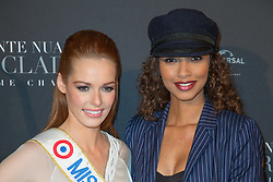 Maeva Coucke Miss France 2018 and Flora Coquerel Miss France 2013 attends Fifty Shades Freed world premiere at Salle Pleyel on February 06, 2018 in Paris, France. Photo by ABACAPRESS.COM