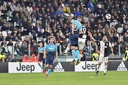 May 19, 2019 - Turin, Turin, Italy - Paulo Dybala of Juventus FC and Hans Hateboer,  of Atalanta BC during the Serie A match at Allianz Stadium, Turin (Credit Image: © Antonio Polia/Pacific Press via ZUMA Wire)
