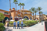 Shoppers at Foothill Ranch Town Centre