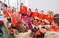 ZWOLLE - HC ZWOLLE - Meiden van HC Kampen.  FOTO KOEN SUYK