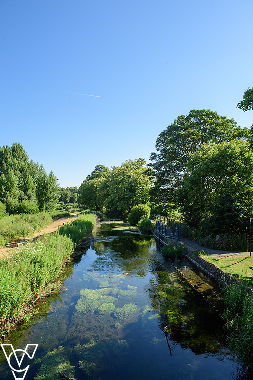 North Kesteven District Council (NKDC) stock images: River Slea, Sleaford<br /> <br /> Picture: Chris Vaughan Photography for NKDC<br /> Date: June 25, 2018