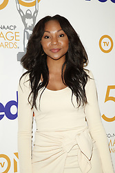 March 9, 2019 - Los Angeles, CA, USA - LOS ANGELES - MAR 9:  Amberia Allen at the 50th NAACP Image Awards Nominees Luncheon at the Loews Hollywood Hotel on March 9, 2019 in Los Angeles, CA (Credit Image: © Kay Blake/ZUMA Wire)