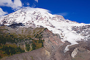 Mount Rainier from Nisqually Vista, Mount Rainier National Park, Washington