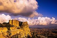 Norman Castle, Tempio de Venere, Erice, Sicily, Italy