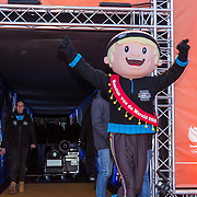 NLD/Amsterdam/20180226 - Thuiskomst TeamNL, Mascotte