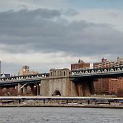 Empire State Building and the Manhattan Bridge