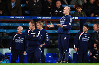 Photo: Daniel Hambury.<br />Crystal Palace v Watford. Coca Cola Championship. 31/03/2006.<br />Palace's manager Iain Dowie questions the referee.