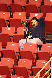 07 November 2014:  Carlos T Miranda during an NCAA womens volleyball match between the Loyola Ramblers and the Illinois State Redbirds at Redbird Arena in Normal IL
