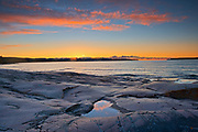 Sunrise on Lake Superior<br />